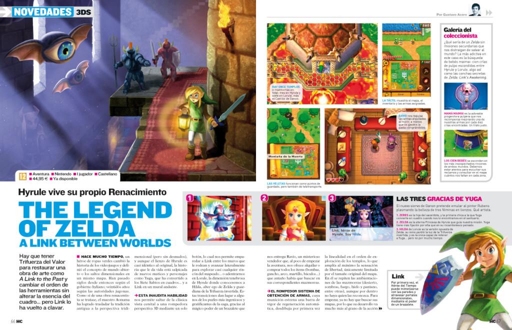 Hobby Consolas Zelda