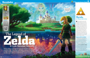 "Reportaje ""A Link Between Worlds"""