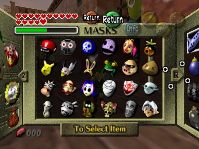 Toda la colección de máscaras de Majora's Mask en un proyecto de Kickstarter