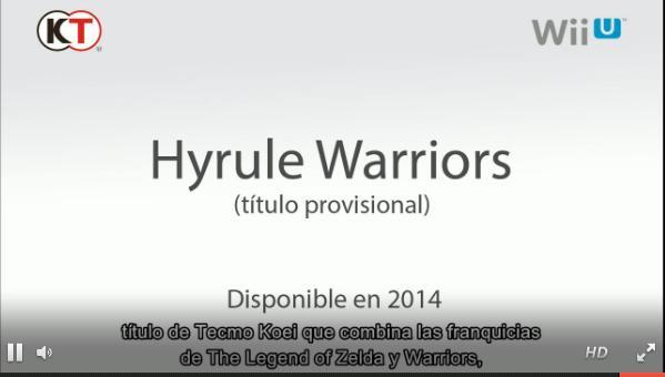 Nuevos detalles acerca del desarrollo de Hyrule Warriors
