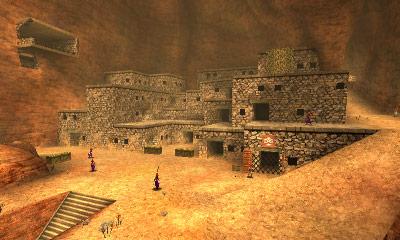 El Valle Gerudo de Zelda en SSB4 versión 3DS