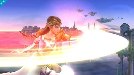 Zelda tendrá un nuevo y devastador ataque mágico en SSB4