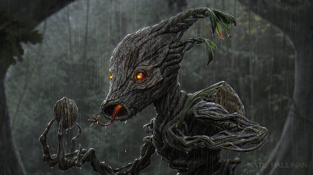 Criaturas realistas de Zelda – Deku