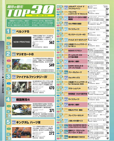 Famitsu-Top-30-Issue-1316