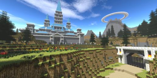 El Reino de Hyrule de Ocarina of Time, recreado en Minecraft
