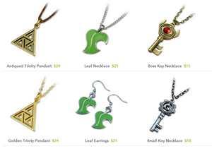 Colgantes Zelda a la venta en FanGamer