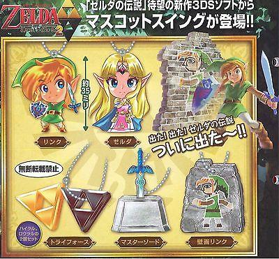 Curiosos llaveros de A Link Between Worlds.