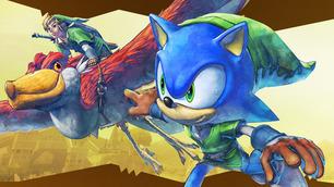 Sonic recorrerá Hyrule en el nuevo DLC de Sonic: Lost World