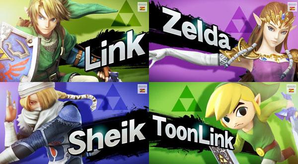 Los tráilers de Super Smash Bros. 4