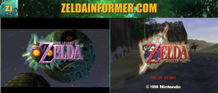 Ocarina of Time y Majora's Mask, jugados a la vez