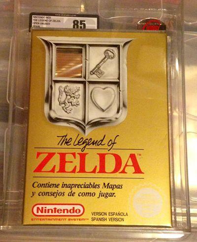 En subasta Zelda I de la NES por 200 euros