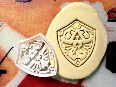 ¡Haz tus galletas con forma de Escudo Hylian!