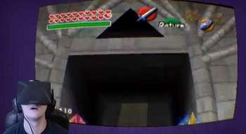 ¡Increíble! Zelda Ocarina of Time completamente emulado con Oculus Rift