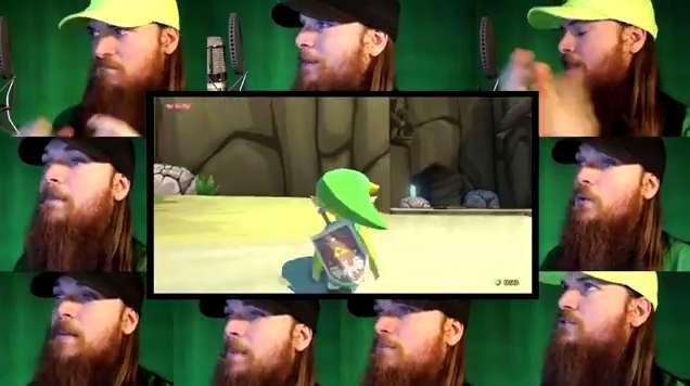 Isla del Dragón de Zelda Wind Waker a Capella de nuevo por Smooth McGroove