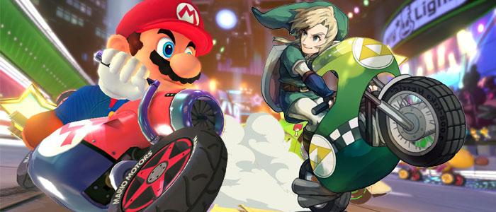 ¿Para cuándo personajes Zelda en Mario Kart?