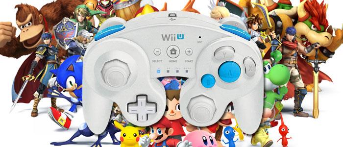 Mando estilo Gamecube para Wii U