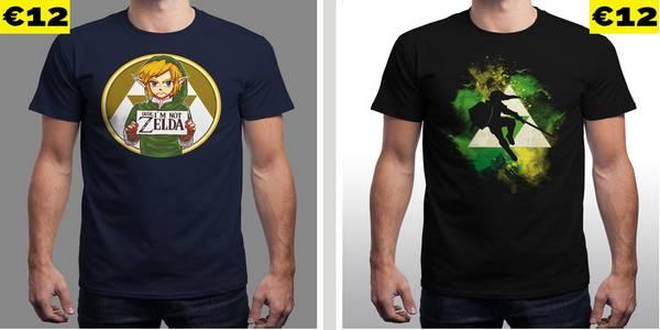 Nuevas camisetas Zelda en Qwertee – Dude I'm Not Zelda
