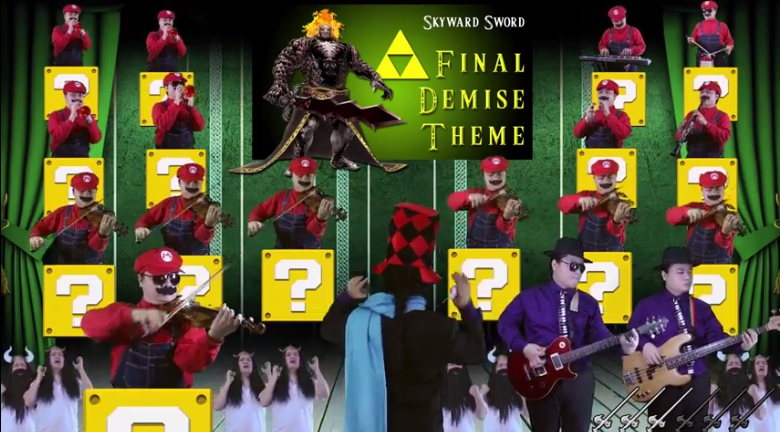 Legend of Zelda Ultimate Medley  por la Orquesta de Mini Marios