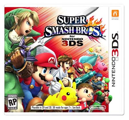 Super Smash Bros 3DS, tercer juego más vendido en España en Octubre