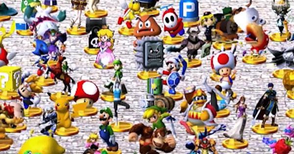 Los trofeos Zelda que aparecen en Super Smash Bros 3DS