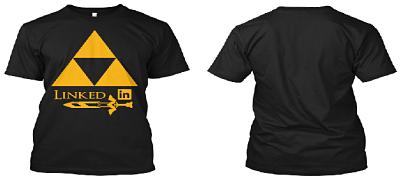Nueva camisa de Zelda desde Teespring