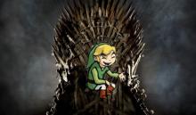 Genial parodia de Zelda de la intro de Juego de Tronos