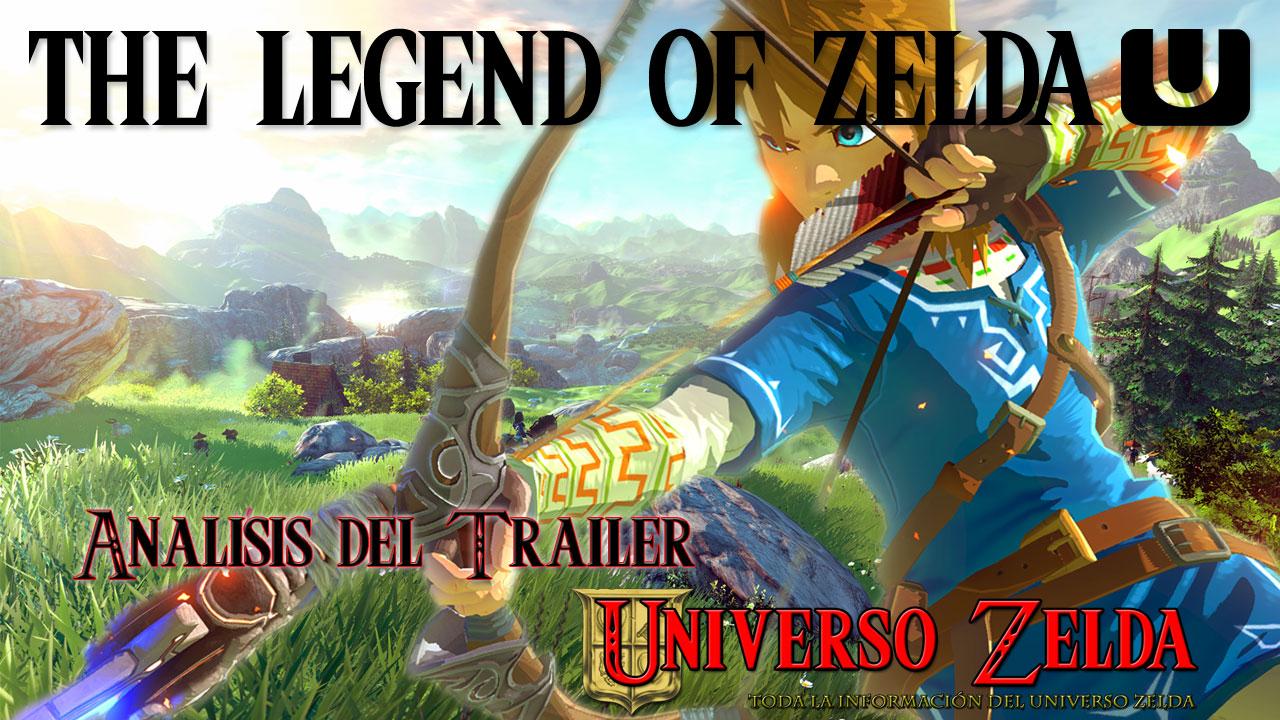 Video-análisis del trailer de Zelda U
