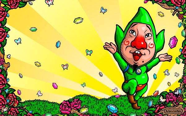 Tingle confirmado como asistente en Super Smash Bros WiiU/3DS
