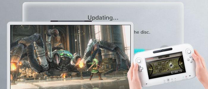 Wii U recibe una actualización