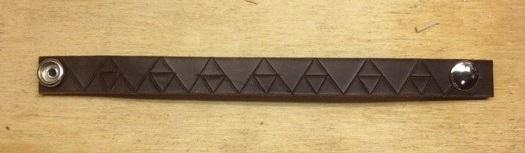 Consigue un Escudo Deku y una pulsera de cuero decorada con Trifuerzas en Kickstarter