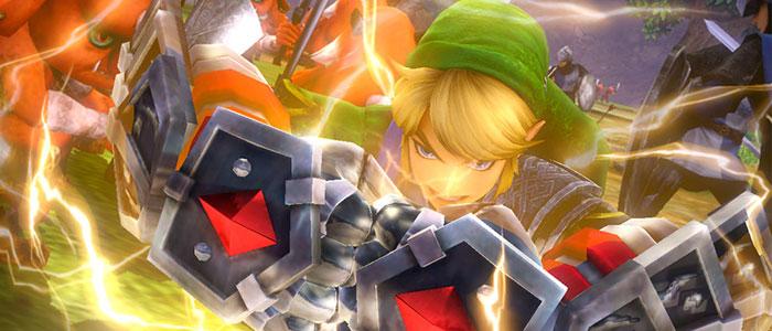 Link utilizará los Guantes de Poder en Hyrule Warriors