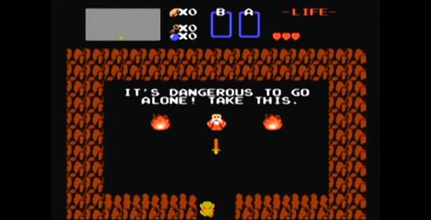 El contenido no usado en The Legend of Zelda de NES respecto a su Beta