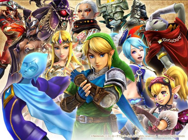 Versiones de Hyrule Warriors