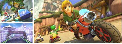¡El nuevo DLC de Mario Kart 8 incluye a Link como nuevo personaje!