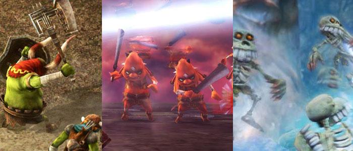 Los escasos enemigos de Hyrule Warriors