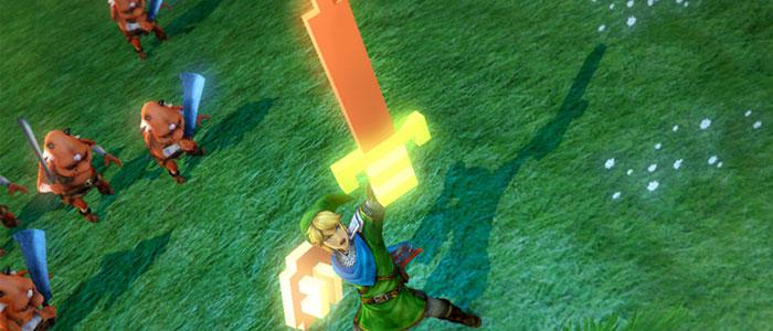 La pixelada Espada Maestra de Hyrule Warriors disponible en lanzamiento europeo