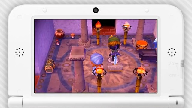Pueblo al más puro estilo Zelda en Animal Crossing New Leaf