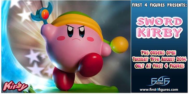 Anunciada figura Kirby de First4Figures estilo Link