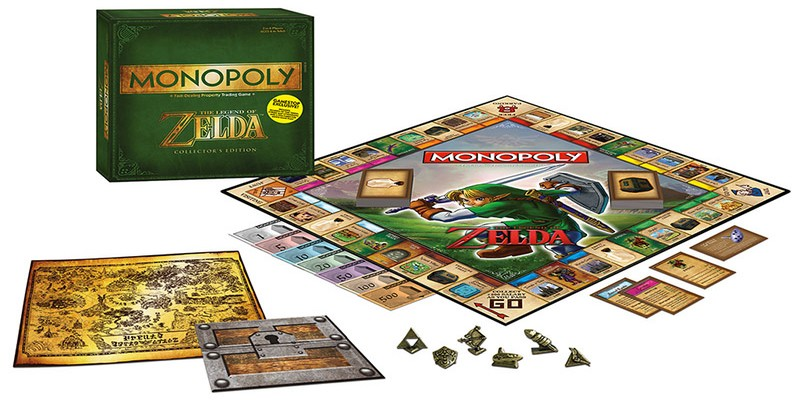 Monopoly The Legend of Zelda en español disponible para su reserva