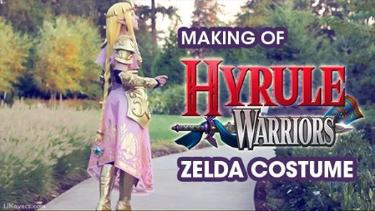 Making of Hyrule Warriors Zelda Costume (Li Kovacs)