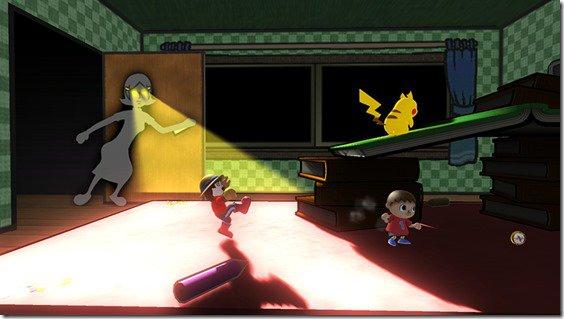 No dejes que Mamá te atrape en el nuevo escenario de Super Smash Bros.