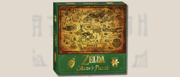 Puzzle de Coleccionista Zelda