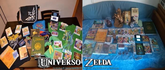Colecciones usuarios de Universo Zelda: Skyruss y Adrián Hyrule