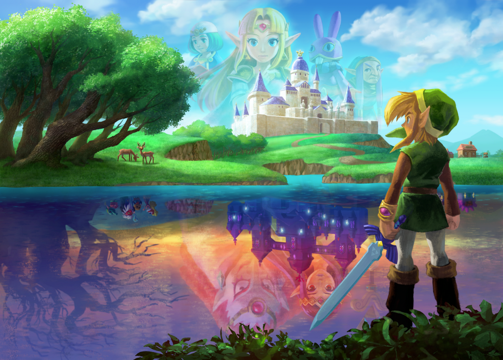 La BSO de A Link Between Worlds viene con un precioso artwork