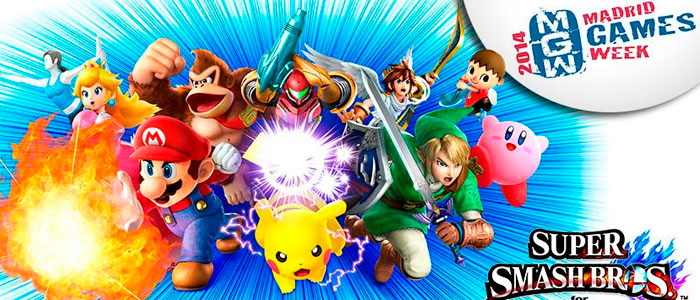 Super Smash Bros. para Wii U en Madrid