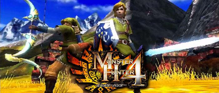 Capcom habla sobre Link en Monster Huter 4