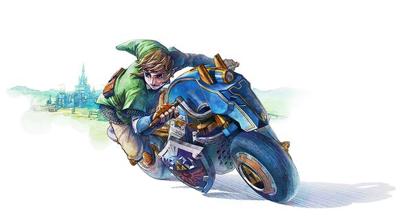 El amiibo de Link no será compatible con Mario Kart 8