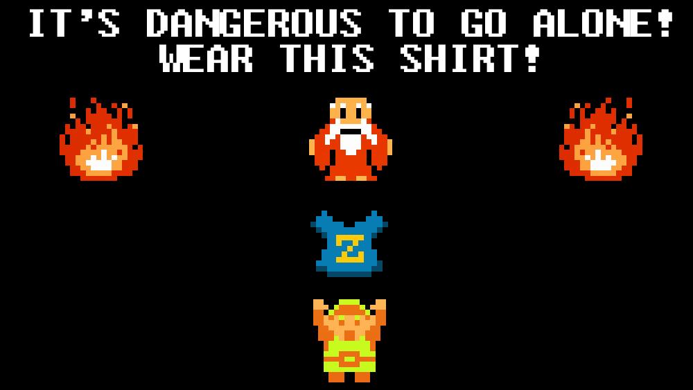 Octoroktober: Un mes de camisetas Zelda