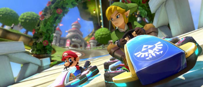 Pack Zelda para Mario Kart 8