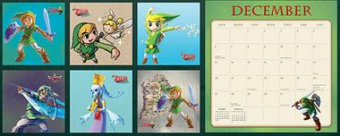¡Empieza 2015 con este fabuloso calendario de Zelda!